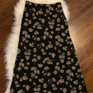 Vintage Old Navy floral maxi skirt
